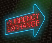 Currency exchange concept. — Stock Photo