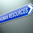 Human Resources concept. — Stock Photo #30129993