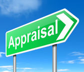 Appraisal concept. — Stock Photo