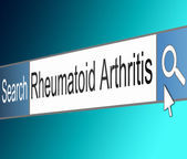Rheumatoid Arthritis concept. — Stock Photo