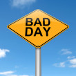 Bad day concept. — Stock Photo
