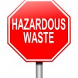 Hazardous waste concept. — Stock Photo
