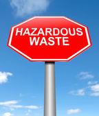 Hazardous waste concept. — Stock Photo
