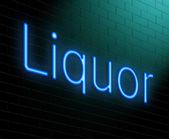 Liquor concept. — Stock Photo