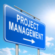 Project management concept. — Stock Photo