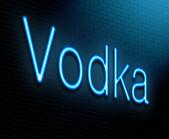 Votka kavramı. — Stok fotoğraf