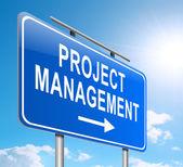 Project management concept. — Stock Photo