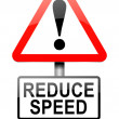 Reduce speed concept. — Stock Photo #32413619