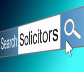 Solicitor concept. — Stock Photo