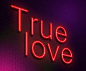 True love concept. — Stock Photo
