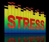 Stress levels concept. — Stock Photo
