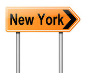 New york teken. — Stockfoto