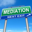 Stock Photo: Mediation concept.