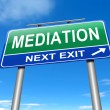 Mediation concept. — Stock Photo