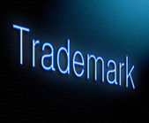 Trademark concept. — Stock Photo