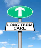 Long term care concept. — Stock Photo