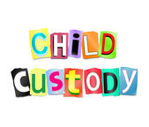 Child custody concept. — Stock Photo