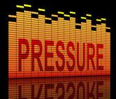 Pressure concept. — Stock Photo