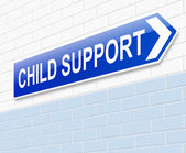 Child support concept. — Stock Photo