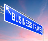 Business travel concept. — Stock Photo