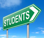 Student concept. — Stock Photo