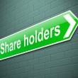 Stock Photo: Share holders concept.