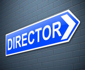 Director concept. — Stock Photo