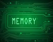 Memory concept. — Stock Photo