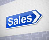 Sales concept. — Stock Photo