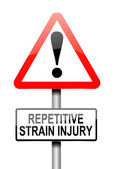Repetitive strain injury concept. — Photo
