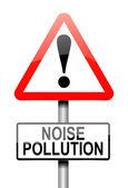 Concetto di inquinamento acustico. — Foto Stock