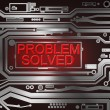 Problem solved concept. — Stock Photo