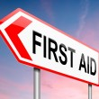 First aid concept. — Stock Photo