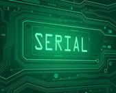 Serial concept. — Stock Photo