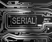 Serial concept. — Stockfoto
