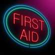First aid concept. — Stock Photo #34930739