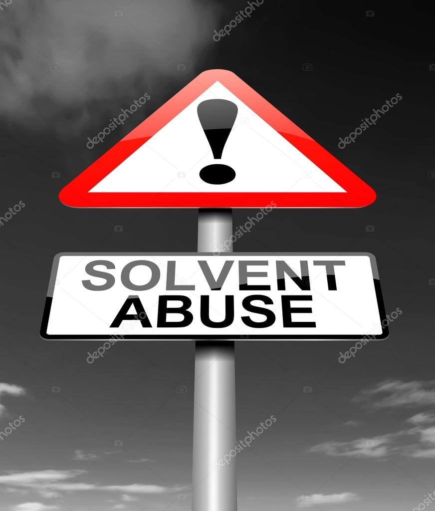Solvent abuse concept. — Stock Photo © 72soul #34951681