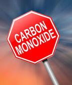 Carbon Monoxide concept. — Stock Photo