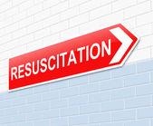 Resuscitation concept. — Stock Photo