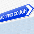 Whooping cough concept. — Stock Photo