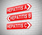 Hepatitis Concept. — Stock Photo