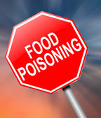 Food poisoning concept. — Stock Photo