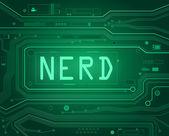 Nerd concept. — Stock Photo