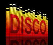 Disco concept. — Stock Photo