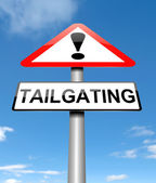 Tailgating concept. — Stock Photo