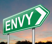 Envy concept. — Stock Photo