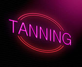 Tanning concept. — Stock Photo