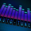 Auto-tune concept. — Stock Photo