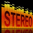 Stock Photo: Stereo concept.