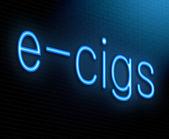 E-cigarette concept. — Stock Photo